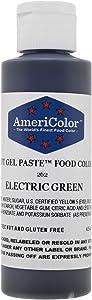 Americolor Soft Gel Paste 4.5 oz. - Electric Green