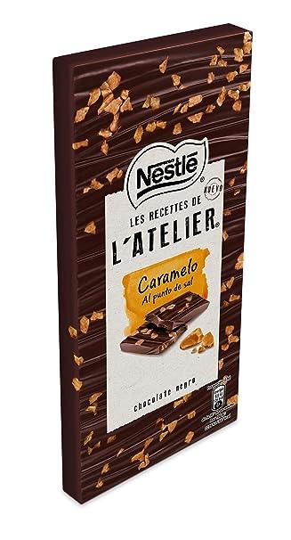 Nestlé Les Recettes de LAtelier - Chocolate negro y Caramelo al Punto de Sal