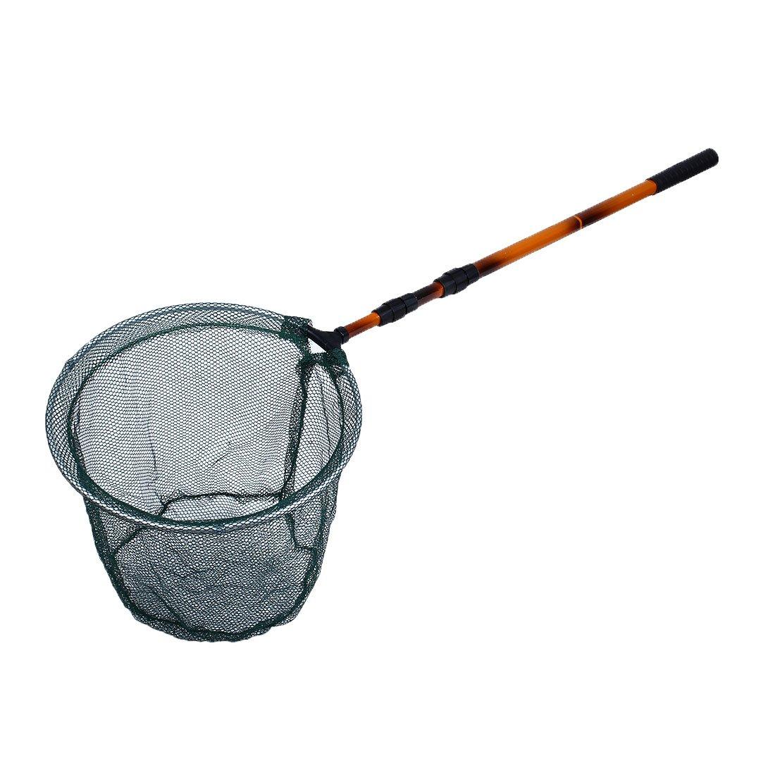 uxcell Aquarium Fish Tank Extendable Handle Round Detachable Landing Net 35cm Wide a17042600ux0383