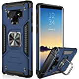 IKAZZ Galaxy Note 9 Case,Samsung Note 9 Cover Dual Layer Soft Flexible TPU and Hard PC Anti-Slip Full-Body Rugged Protective