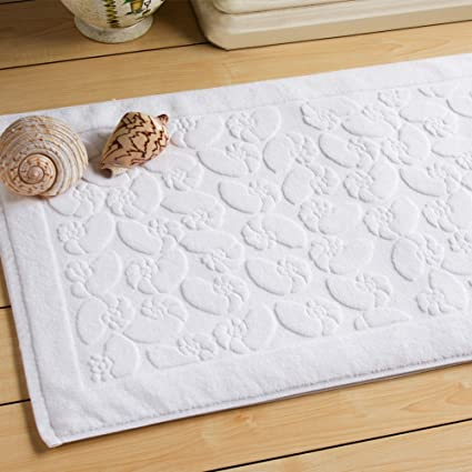 Toalla de algodón acolchado/Hotel baño alfombras/Hotel/Baño/Antideslizante mat-