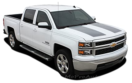 Chevy Silverado Rally Edition >> Rally 1500 2014 2015 Chevy Silverado Rally Edition Style Hood And Tailgate Racing Vinyl Graphic Decal Stripes Fits Silverado Models Only Color 3m
