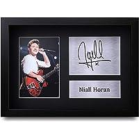 HWC Trading Niall Horan A4 Enmarcado Regalo De