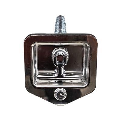 Buyers Products L8855 T-Handle Latch (Latch,T-Hdl,SST W/Gskt,Studs,): Automotive