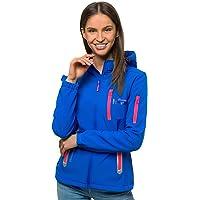 OZONEE JS/HH018 Softshelljas voor dames, waterdicht, ademend, softshelljas, overgangsjas, winterjack, windbreaker, ski…