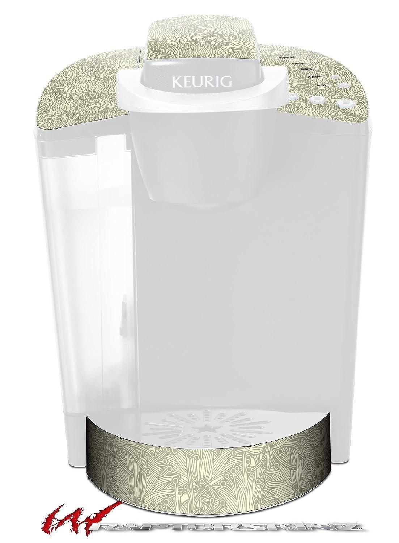 花パターン11 – デカールスタイルビニールスキンFits Keurig k40 Eliteコーヒーメーカー( Keurig Not Included )   B017AK8LW6