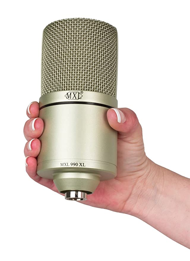 Amazon.com: MXL 990XL Condenser Microphone: Musical Instruments