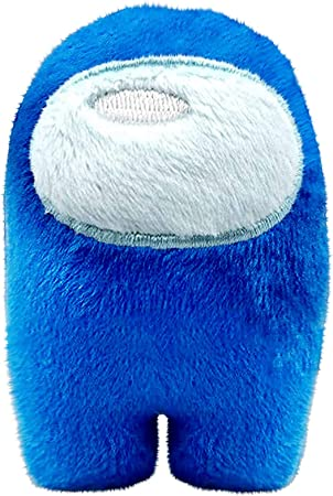 Blue Among Soft Plushie Squeaky Sound Toy Great Gift for Game Fan Christmas Gift Plush