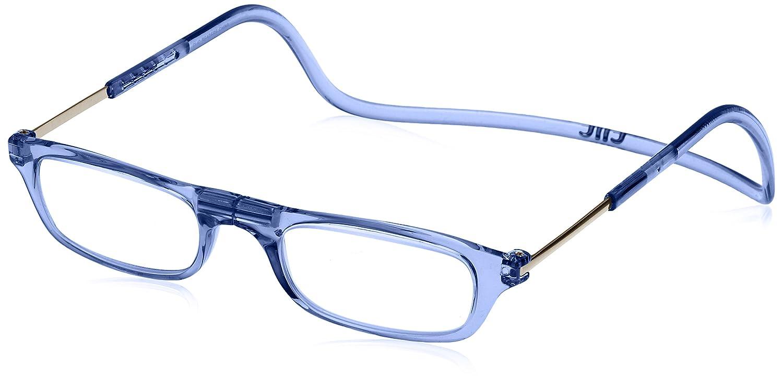 (クリックリーダー) Clic Readers 老眼鏡 B00VDTIBZI ブルーライトカット+1.00|ブルー ブルー ブルーライトカット+1.00