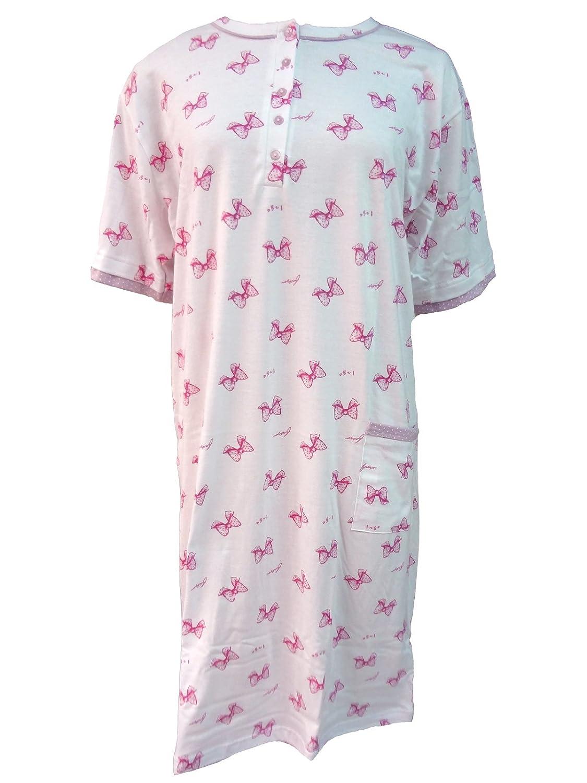 CD08 camicia da notte donna in cotone jersey calibrata oversize IRGE art