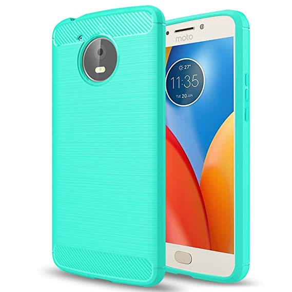 los angeles 0c910 7a7b1 Moto E4 Plus Case(USA version),Moto E Plus (4th Generation) Case,AnoKe  Ultra[Slim Thin]Hybrid Shock Absorption Scratch Resistant Soft TPU Silicone  ...
