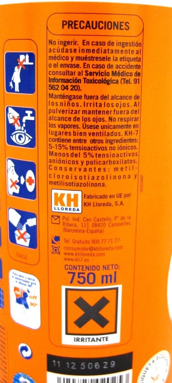 Desengrasante KH7 pistola 750ml 501252 KH7: Amazon.es: Bricolaje y herramientas