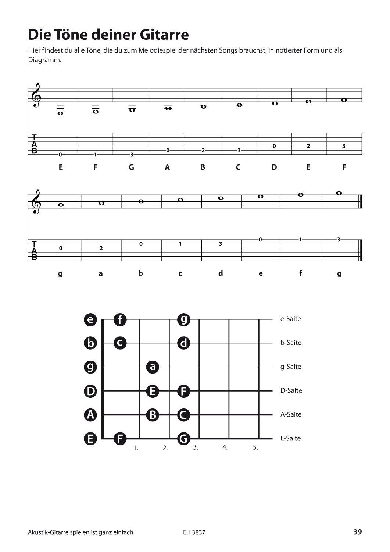 Akustik-Gitarre spielen ist ganz einfach + CD + DVD: Schule mit ...