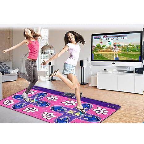 wly&home Alfombras de Baile,Pista de Baile Doble/Pista de Baile Wii/computadora