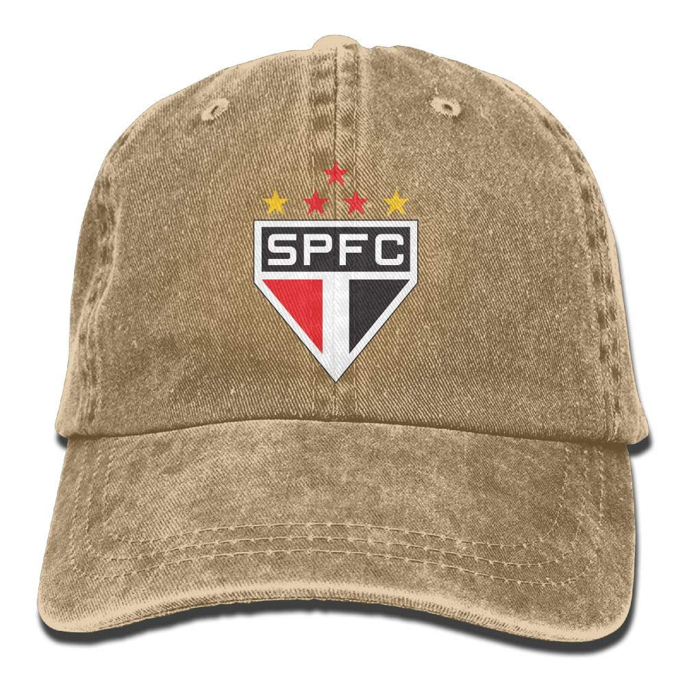 RT-YQQO Sao Paulo Soccer Club Unisex Adjustable Cowboy Cap Trucker Cap Baseball Cap