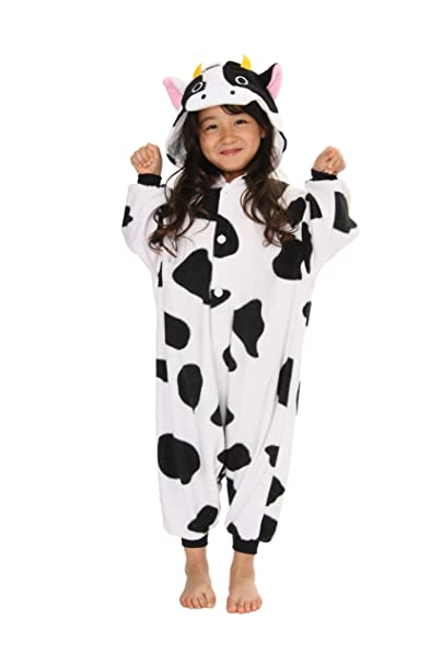 Fleece Pijama Kigurumi - Vaca