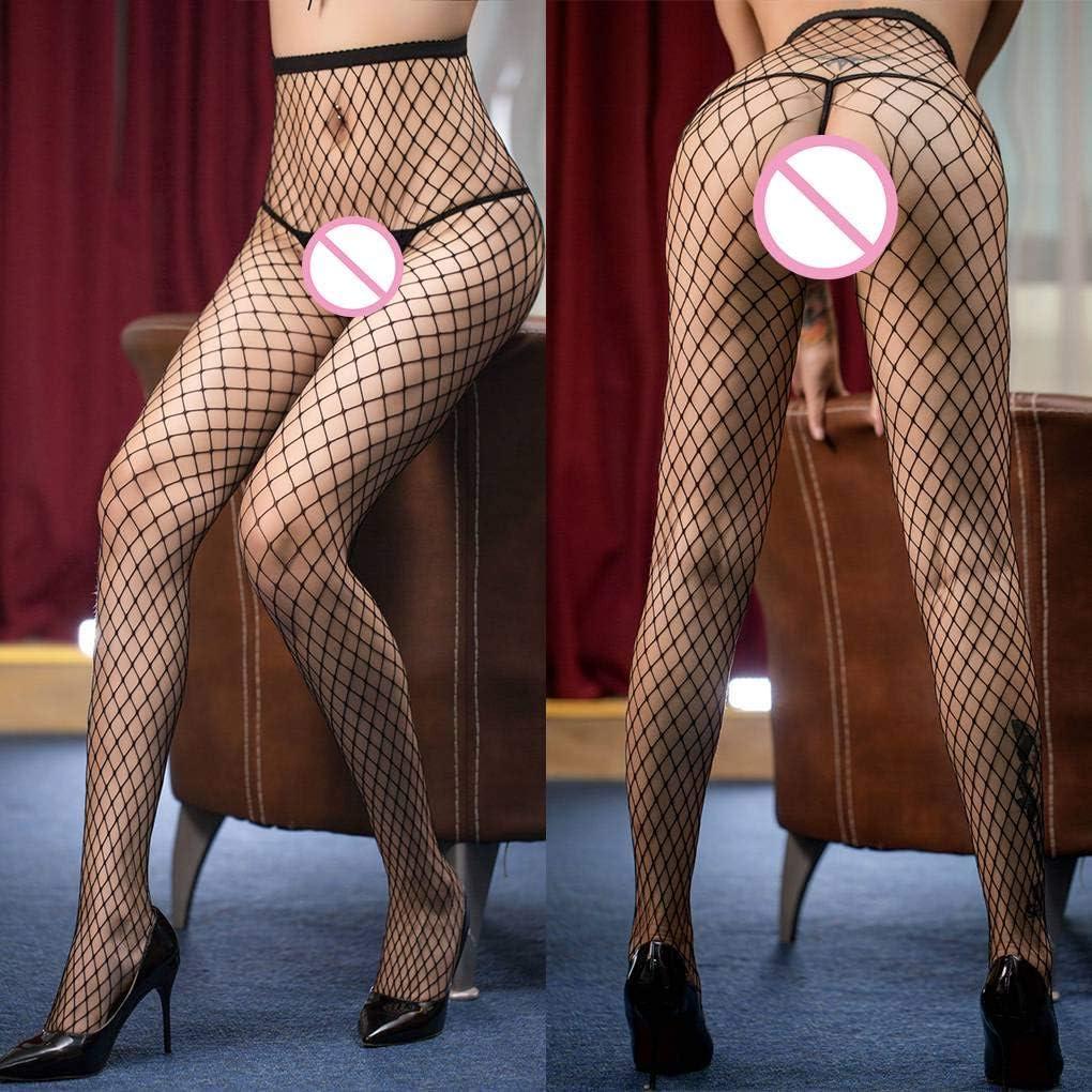 Enteta Women Fishnet Stockings Bodystocking Female Erotic Lingerie Open Pantyhose Fishnet Stockings Crotch Tights Sex Girl Pantyhose Body Socks