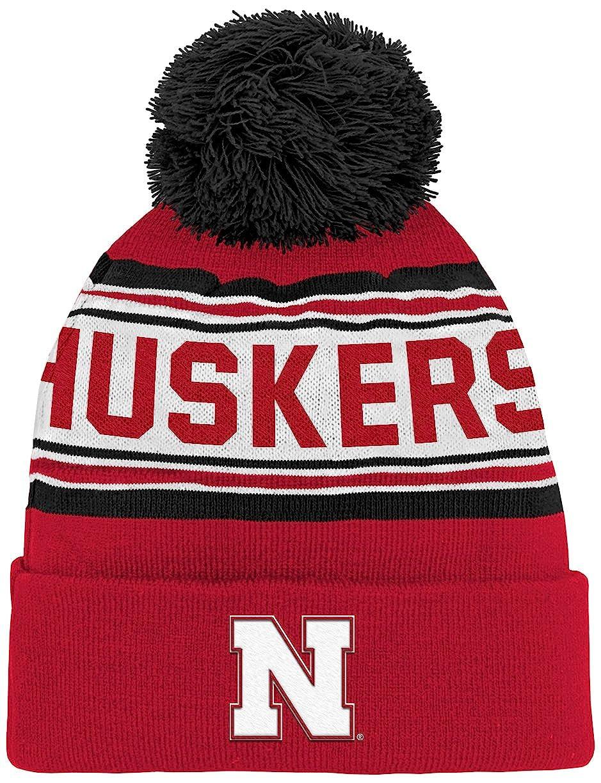 Outerstuff NCAA Boys NCAA Boys 4-7 Cuffed Knit with Pom Hat