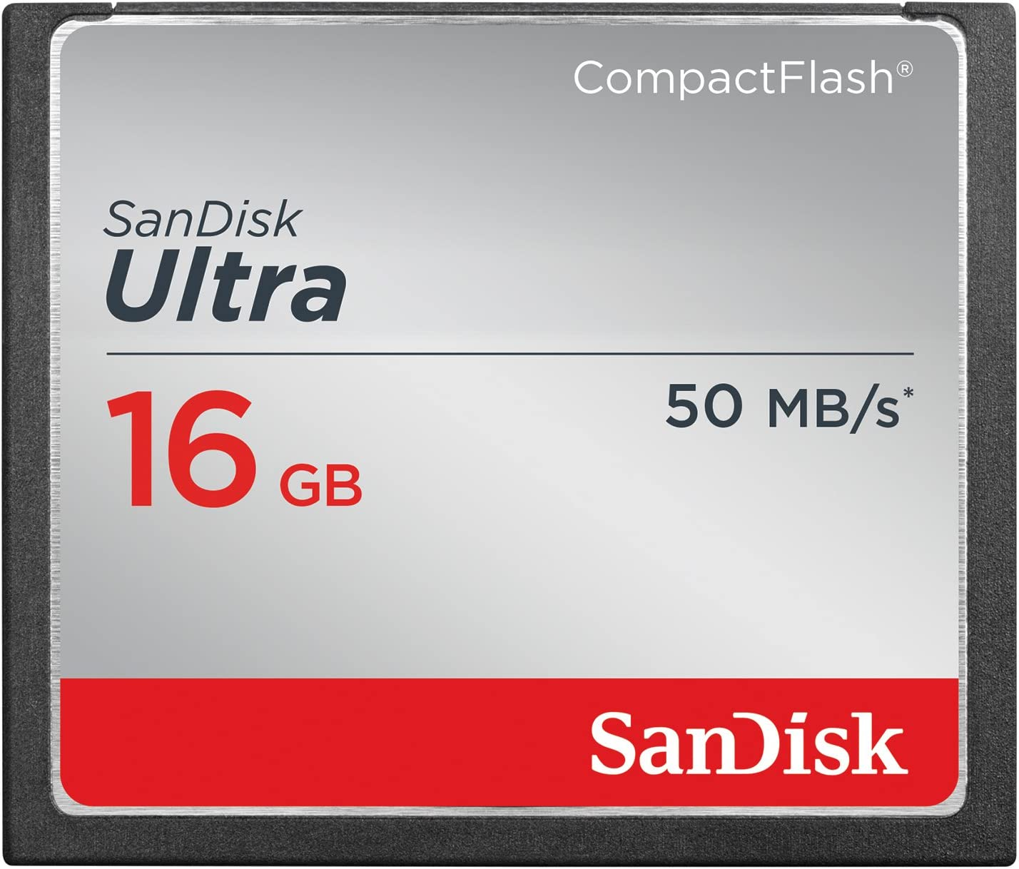SanDisk Ultra 16GB Compact Flash Memory Card Speed Up To 50MB/s, Frustration-Free Packaging- SDCFHS-016G-AFFP (Label May Change)