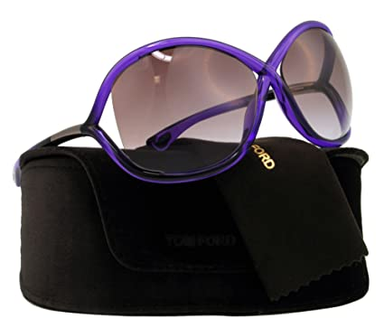 dd7bfe1180 Amazon.com  Tom Ford Sunglasses - Whitney Frame  Crystal Purple Lens ...
