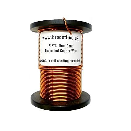Esmaltado de cobre alambre de bobinado 0,10 mm, 42 38 Calibre AWG de