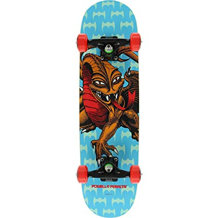 Image Unavailable. Image not available for. Color  Powell-Peralta Steve Caballero  Dragon Blue Mid Complete Skateboards ... 67750d38fff