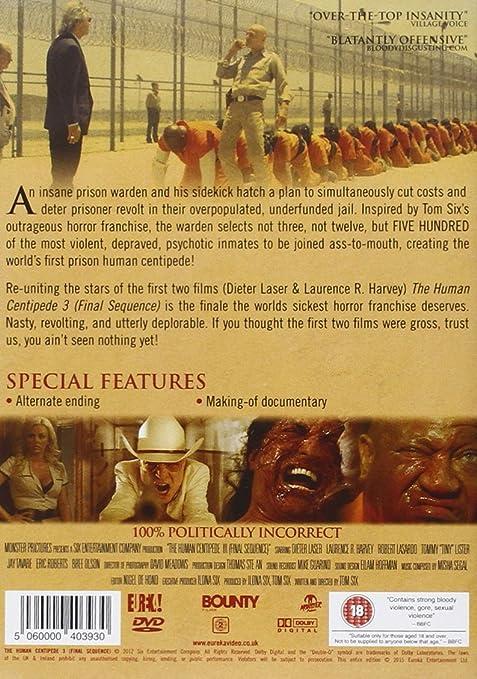 Human Centipede 3 Final Sequence Region 2 Amazon De Dvd Blu Ray