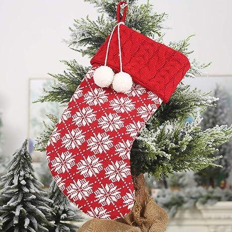 Decoración para navidad Bolsas de Santa de almacenamiento ...