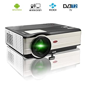 Eug 3000 lumens wifi projector hdmi portable digital for Compact projector for ipad