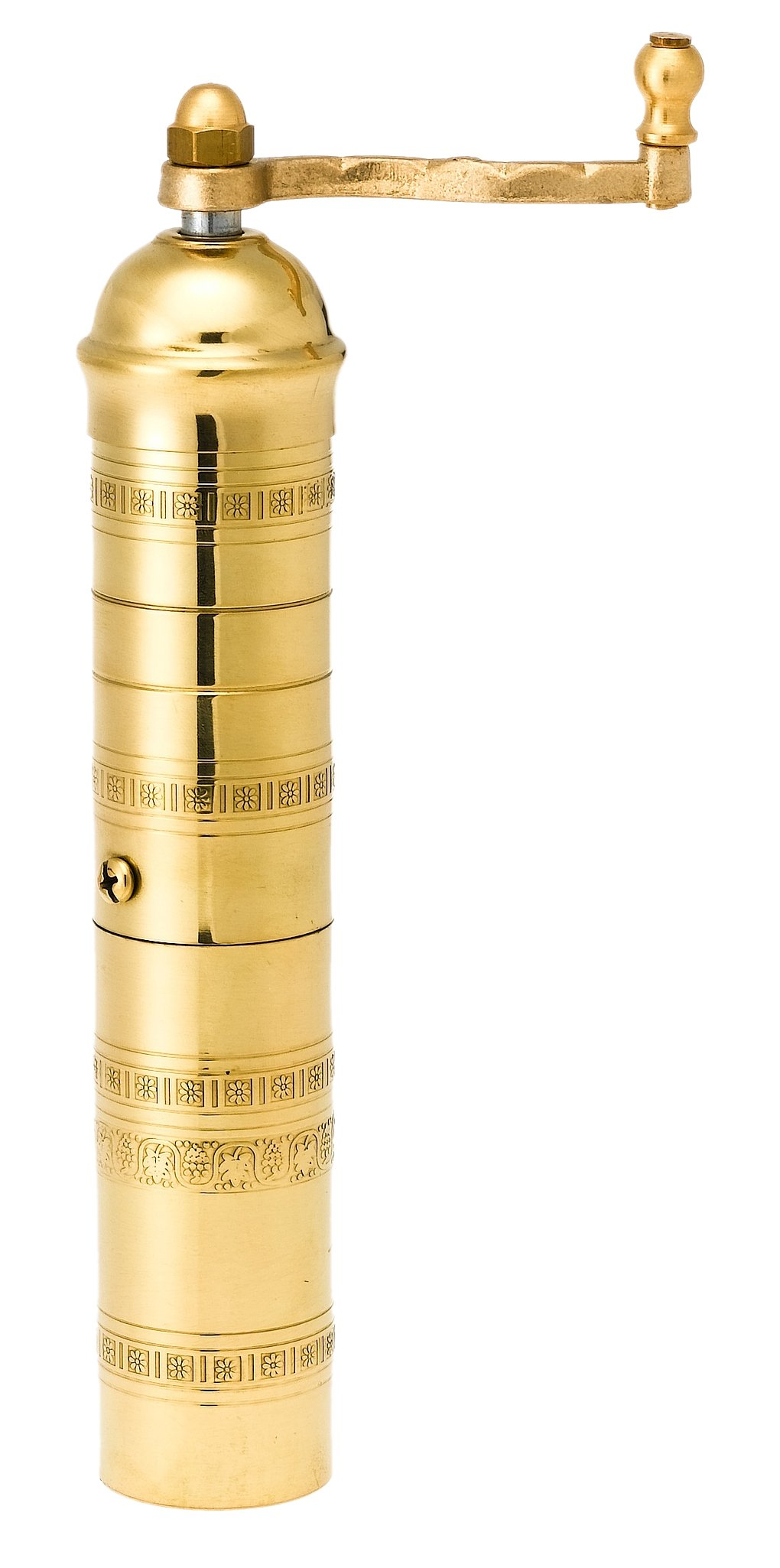 Pepper Mill Imports Traditional Coffee/Spice Mill, Brass, 9'' by Pepper Mill Imports