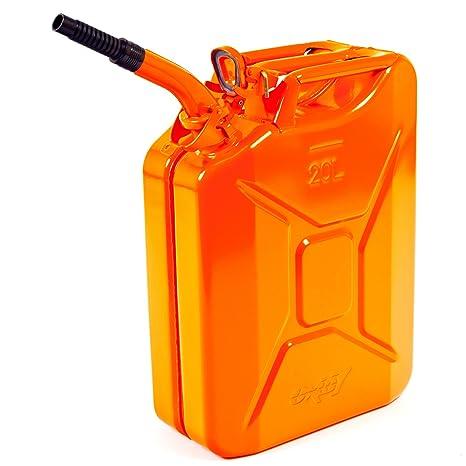 Ausgießer NEU 3 x 20 Liter Dieselkanister Benzinkanister UN-Zulassung rot inkl