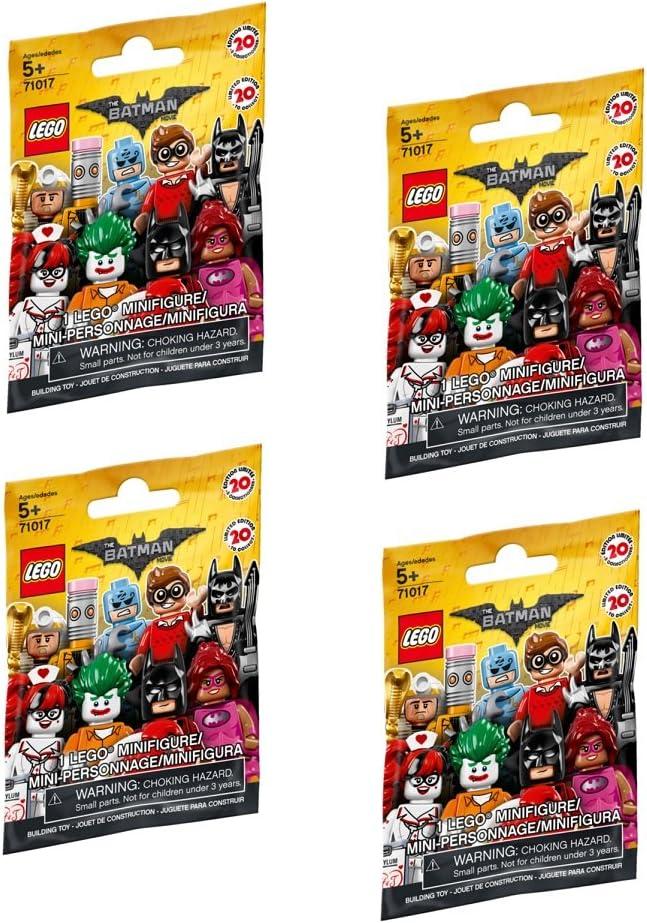 Lego Mini Figure Bundle (4 sealed Blind Packages)