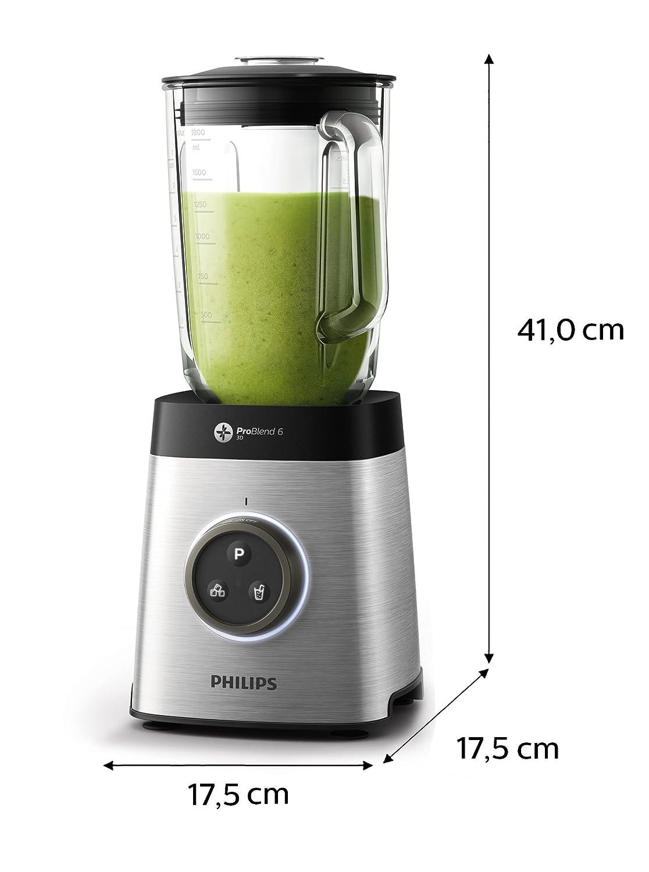 Amazon.de: Philips HR3655/00 Standmixer (1400 Watt, ProBlend 6 3D ...