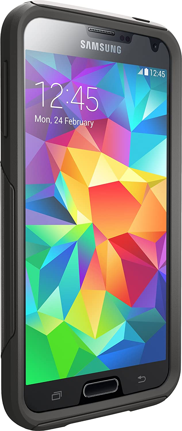 Otterbox COMMUTER SERIES for Samsung Galaxy S5 - Retail Packaging - Black