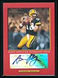 1/1 AARON RODGERS 2005 TOPPS TURKEY RED PARALLEL
