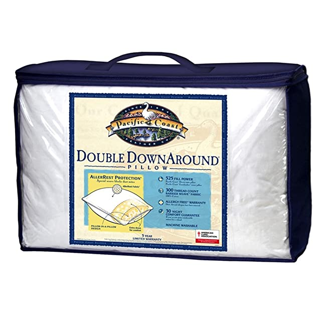 Pacific Coast Double Down Around Pillow Bed Pillow