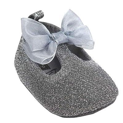 Chaussures de bébé,Fulltime® Baby Girl bowknot Chaussures en cuir Sneaker anti-dérapant souple Sole Toddler