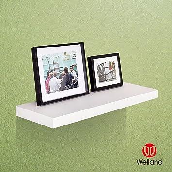Amazon.com: WELLAND 11-3/4\'\' Depth Grande Floating Wall Shelf ...