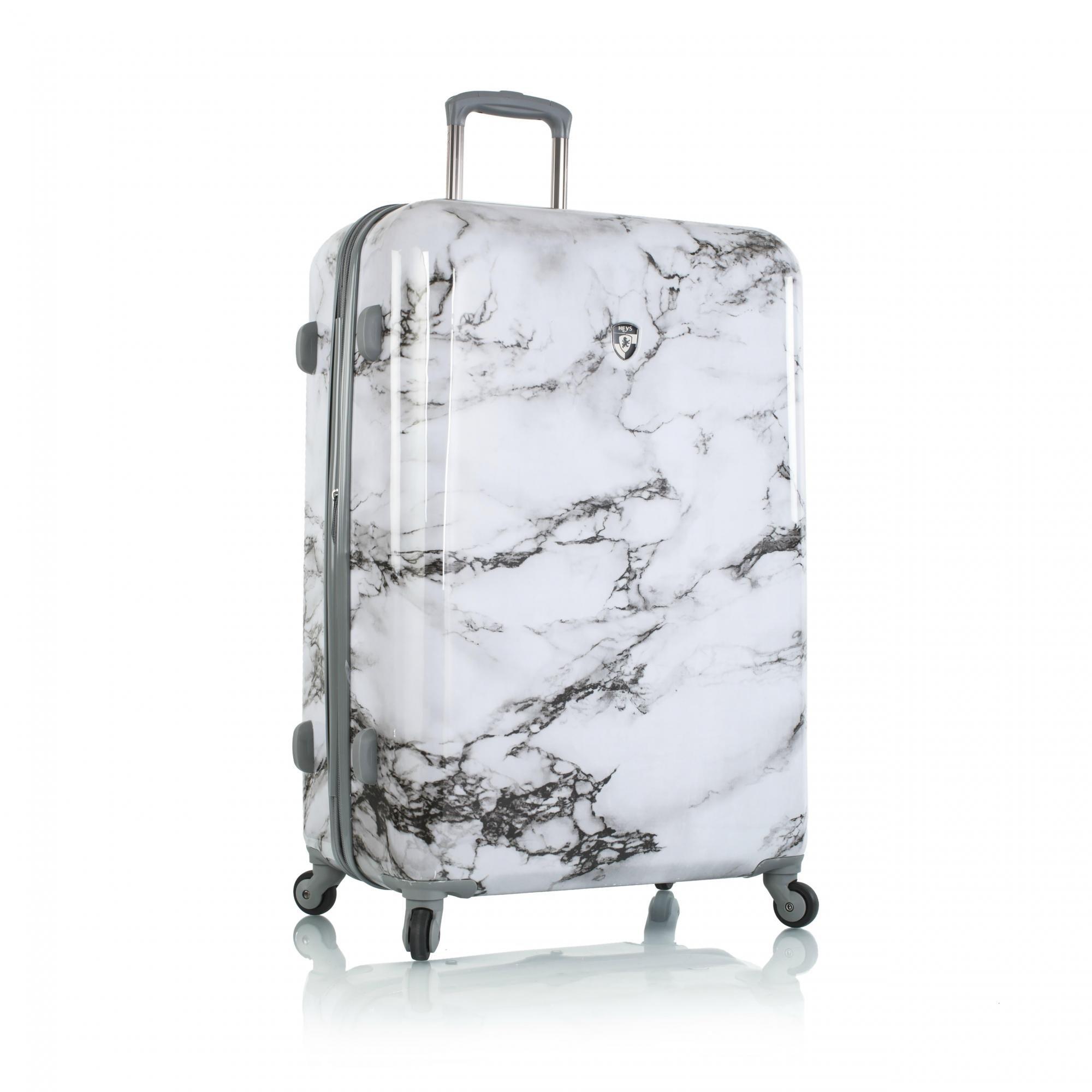 Heys America Unisex Bianco 30'' Spinner White Luggage