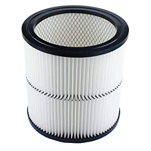 17884 Vacuum Filter Replacement Parts Compatible with Craftsman 9-17884 17935 17937 17920 Cartridge Shop Vac Filter - Fit 6/8/12 and 16 Gallon Vacs
