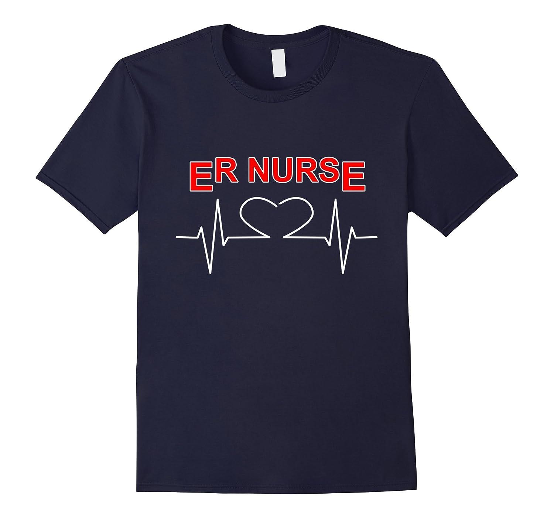Cool Registered ER Nurse T-Shirt National Nurses Day Gifts-TH