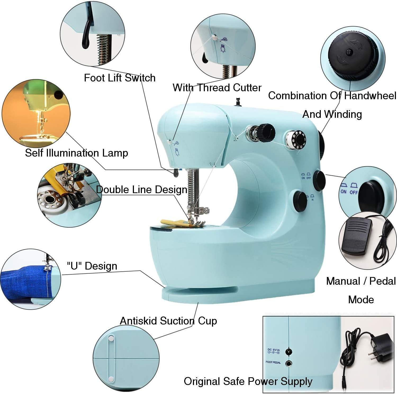 Sewing Sewing Machines Top-Spring Beginner Electric Overlock ...