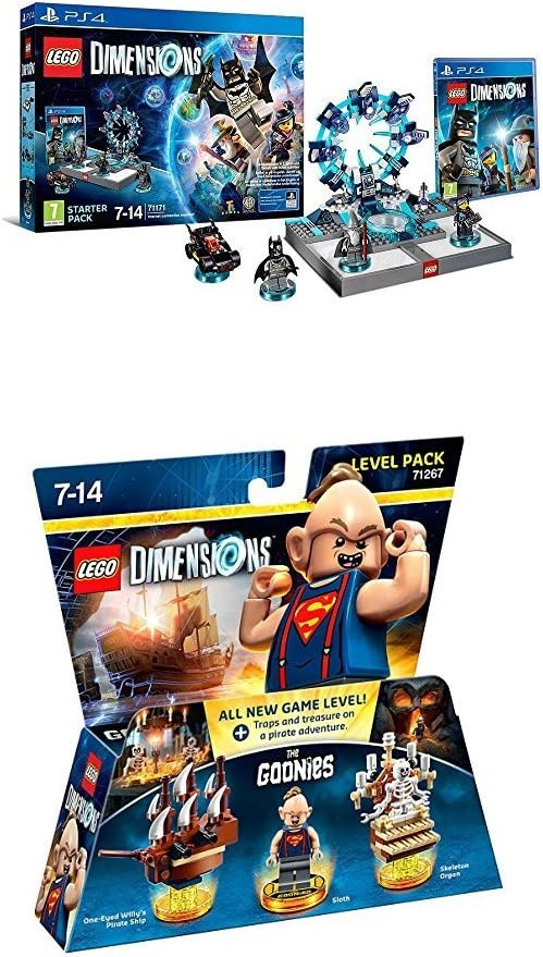 LEGO - Starter Pack Dimensions (PS4) + Goonies (Level Pack ...