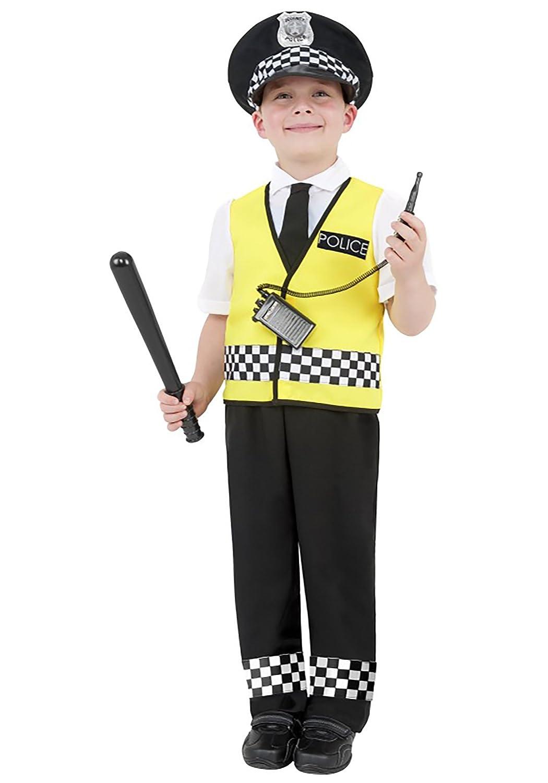 Generique - Disfraz de policía para niño: Amazon.es: Juguetes y juegos