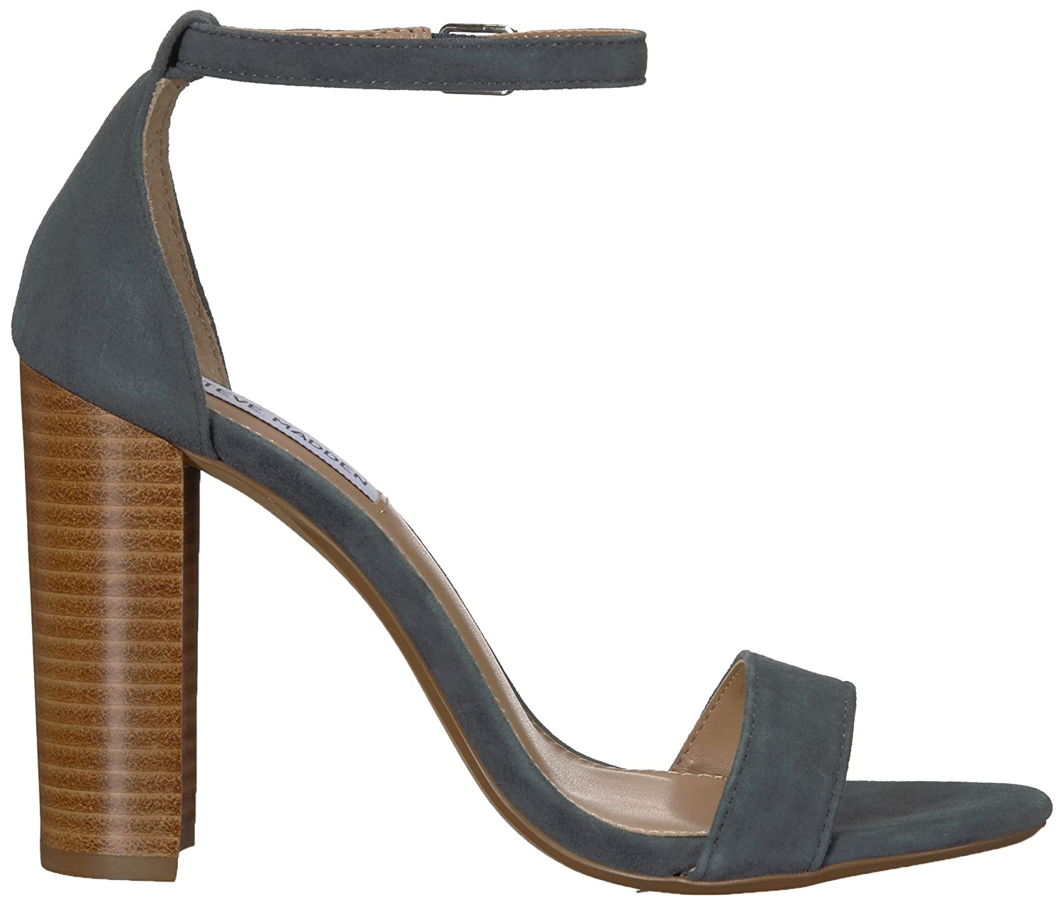 Steve Madden Women's Carrson Dress Sandal B07BLZ7W56 7.5 B(M) US|Blue/Multi