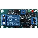 Modulo Temporizzatore - SODIAL(R) SRD-12VDC-SL-C NC modulo rele' con comando timer ritardato 12V DC