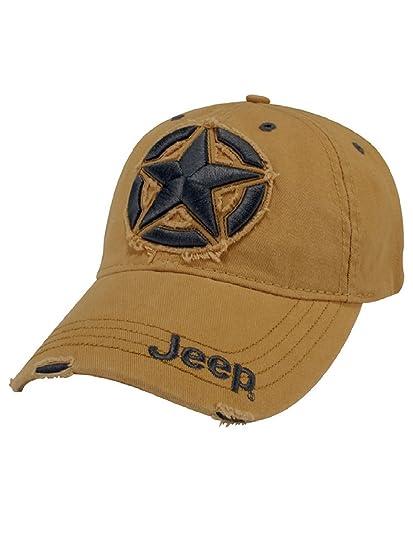 4a177ac92a4 Amazon.com  Jeep 3D Star Cap  Sports   Outdoors