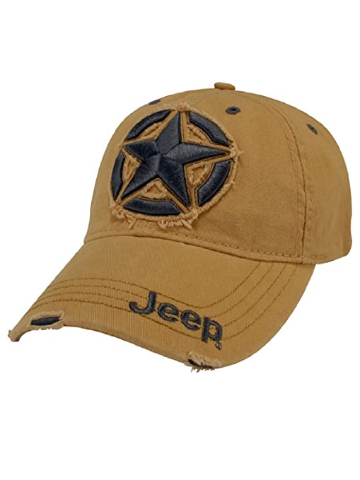 Amazon.com  Jeep 3D Star Cap  Sports   Outdoors 8db2f4eab5d2