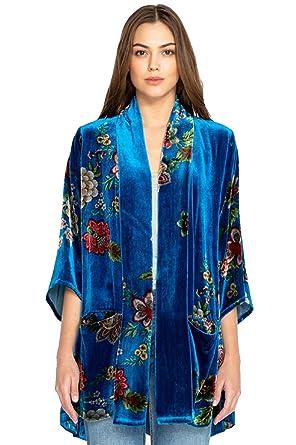 d57ffd2c4 Johnny Was Vivian Velvet Kimono - C44218 at Amazon Women's Clothing store: