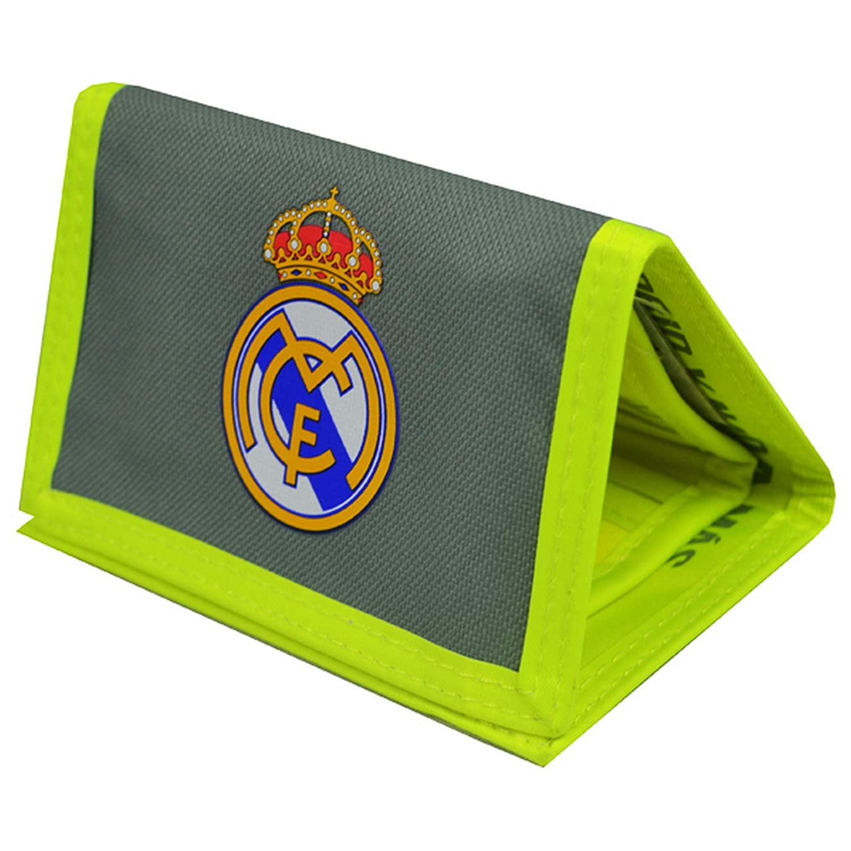 REAL Madrid Fc Nylon Wallet BK